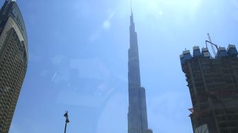 Dubai tallest building by day