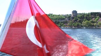 IStanbul fort from the Bosphorus