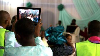 Lagos wedding Ipad photographer